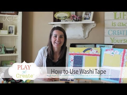 How to use Washi Tape