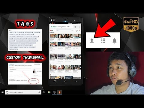 How to upload hd videos on youtube app