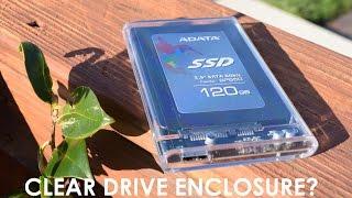 Orico 2.5 Inch Transparent USB3.0 HDD / SSD Enclosure Review (2139U3)