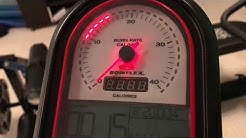 How to adjust Bowflex Max Trainer workout intensity - Bowflex M3, M5, M7