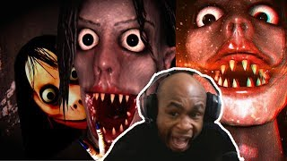 Live-streaming Scary Games | MICHAEL JACKSON THE HORROR GAME (Ayuwoki)