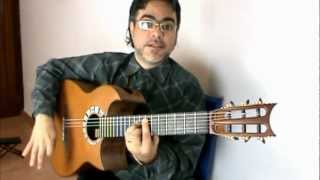 Tips to play Chords with Rasgueos / Paco de Lucia's Techniques Ruben Diaz Flamenco Lessons CFG