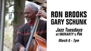 Jazz Tuesdays with Ron Brooks, Gary Schunk, Jeff Shoup (3/6/18)