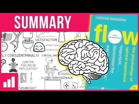 Flow: The Psychology of Optimal Experience by Mihaly Csikszentmihalyi ► Animated Book Summary