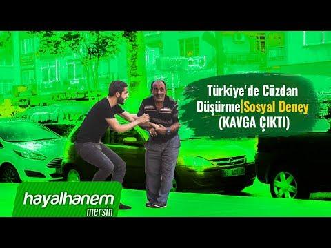 Türkiye'de Cüzdan Düşürme│Sosyal Deney (KAVGA ÇIKTI)