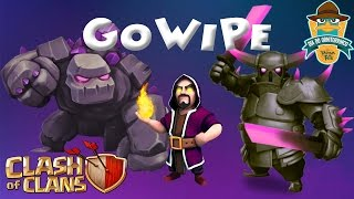 Clash of Clans- Come attaccare con la GoWiPe