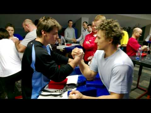 armwrestling round-robin, moscow team training 2013