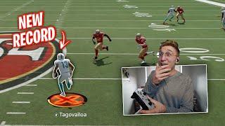 Tua Tagovailoa BREAKS The NFL Touchdowns Record...