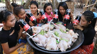 Wow amazing cooking chicken roasted with cocacola recipe
