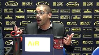 Conferência de Imprensa Pedro Ribeiro