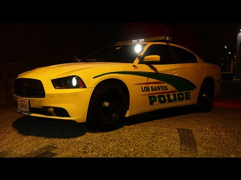 [GTA 5 LIVE PD] LOS SANTOS POLICE DEPARTMENT NIGHT PATROL | 2014 DODGE CHARGER! | MANATEE COUNTY RP