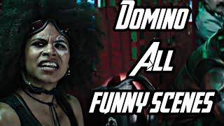 Deadpool 2  DOMINO All Funny Scenes II Deadpool 2  Best Scenes 4K