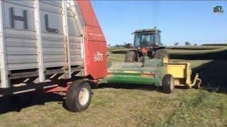 Chopping Silage - 3rd Crop, Farm 2