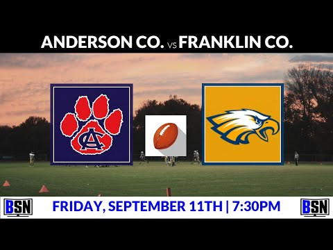 Football: Anderson Co. Vs Franklin County