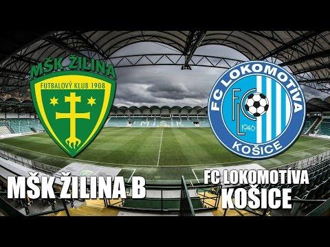 Záznam: MŠK Žilina B - FC Lokomotíva Košice 3:1 (1:0)