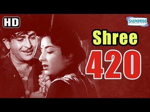 Shree 420 (HD) - Raj Kapoor   Nargis   Lalita Pawar - Popular Hindi Film - (With Eng Subtitles)
