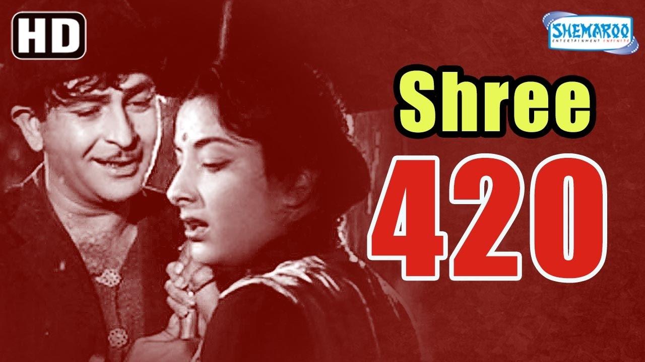 Download Shree 420 (HD) - Raj Kapoor   Nargis   Lalita Pawar - Popular Hindi Film - (With Eng Subtitles)