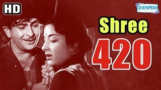 Shree 420 (HD) - Raj Kapoor | Nargis | Lalita Pawar - Popular Hindi Film - (With Eng Subtitles)