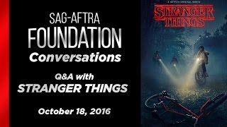 Conversations with David Harbour of STRANGER THINGS