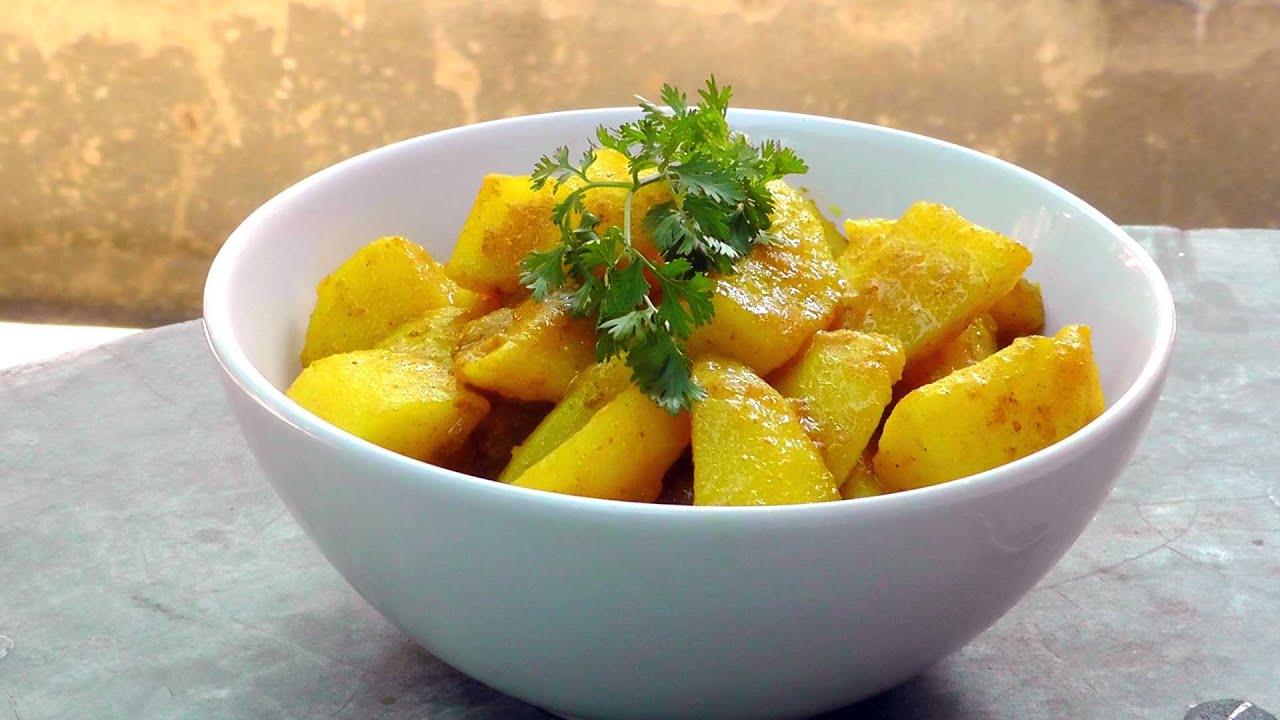 Vegan vegetarian burmese recipe potato curry aloo hin youtube forumfinder Images