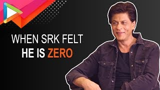 Shah Rukh Khan talks about the time he felt he can