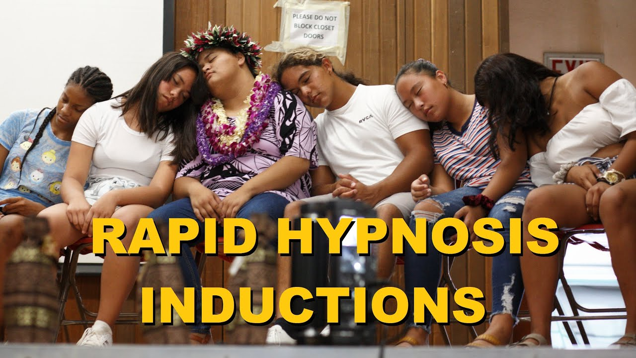 Rapid Hypnosis Inductions - YouTube