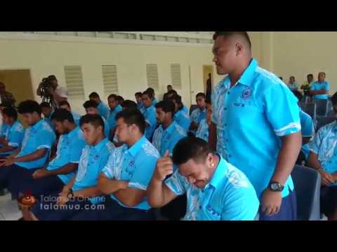 Samoa Under 20 Press Conference
