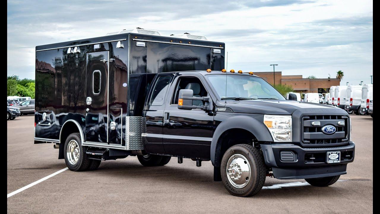 Prisoner Transport Van >> 2016 Ford F-450 Prisoner Transport Vehicle Walkaround - YouTube