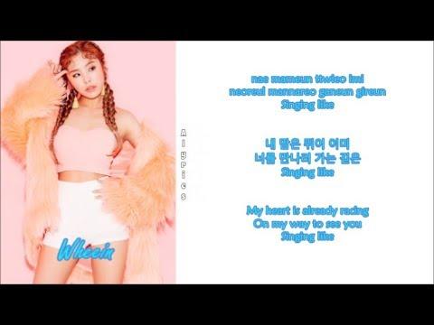 Free download lagu Whee In, Jeff Bernat and B.O. - DA RA DA (Rom-Han-Eng Lyrics) Color & Picture Coded Mp3 terbaru 2020
