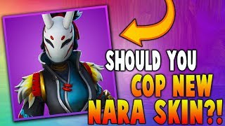 Should You Cop New Nara Skin?!! (Nintendo Switch) - Fortnite Battle Royale