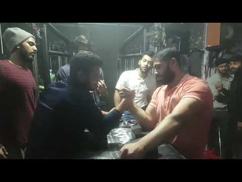 Arm Wrestling Training Session 18