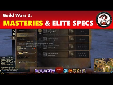 Guild Wars 2: New Elite Specializations & Mastery System