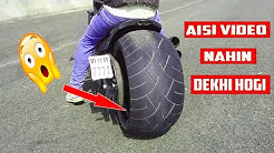 Head Turning Tyre 190 AND 300 MM ! review Don't miss ! MACK RIDER !