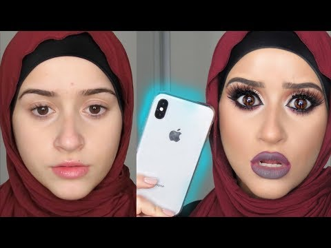 DRAMATIC Makeup Vs. iPhone X Face ID
