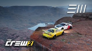 The Crew 2 - RX-7 vs 370z | Drifting through the Grand Canyons!