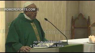 Papa Francisco en Casa Santa Marta: