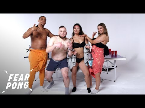 Couples Play Fear Pong (Tre and Sammy vs. Niki and Edwin) | Fear Pong | Cut