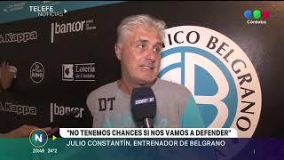 El DT de Belgrano confirmó a los 11 para enfrentar a Lanús