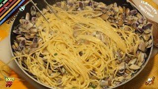 61 -  Spaghetti alle arselle...sapori alle stelle! (primo piatto facile buonissimo ed economico )