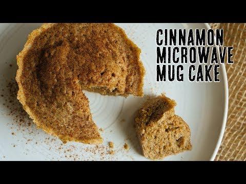 Cinnamon Low Carb Mug Cake | Dessert in 2 Minutes