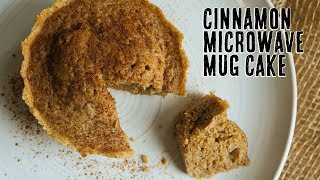 Cinnamon Low Carb Mug Cake | Dessert in 2 Minutes