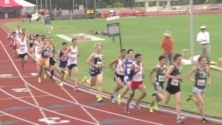 Texas Relas HIgh School Boys 3200 Meter 2013