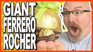 GIANT Ferrero Rocher Review/Challenge | KBDProductionsTV