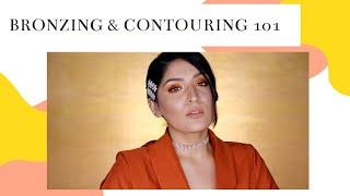 My In-Depth Bronzing and Contouring Routine | Tips & Tricks | Shreya Jain