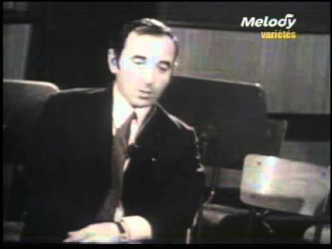 Interview avec Aznavour par Philippe Labro