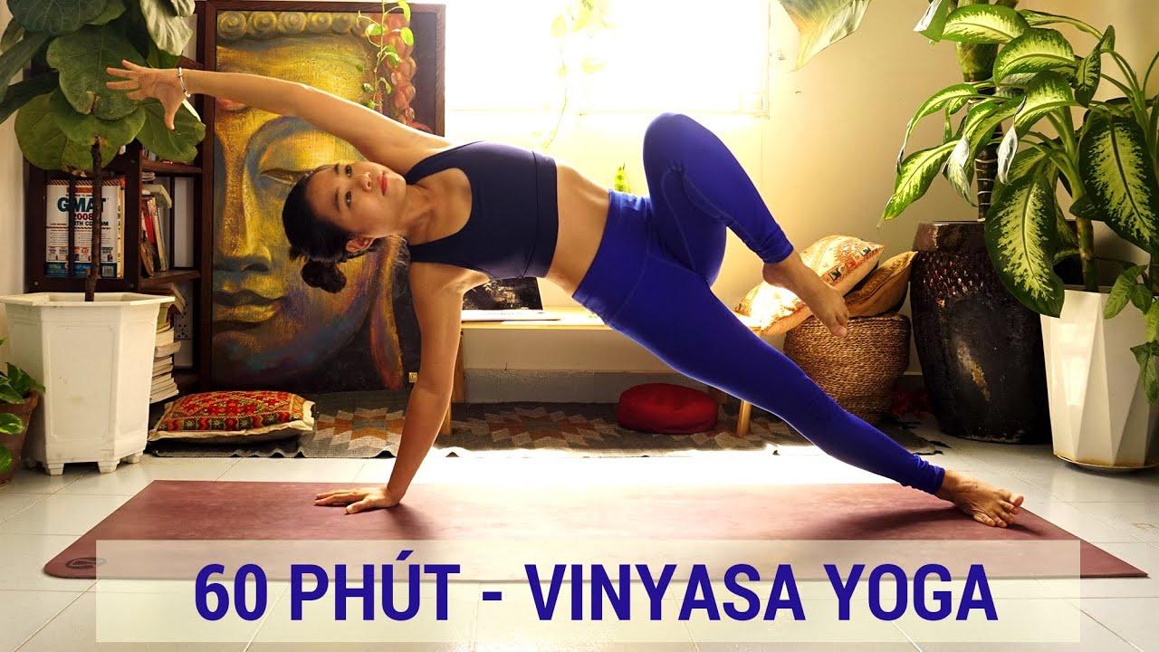 60 phút Vinyasa toàn thân | Mang năng lượng và sự săn chắc cho cơ thể