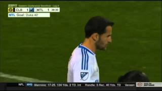 Columbus Crew v Montreal Impact (39.00) - Offside positioning