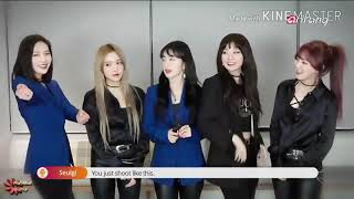 Joy taking over Seulgi's Part in Red Velvet's Bad Boy