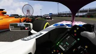 Assetto Corsa Formula Hybrid 2018 Suzuka mit der Oculus