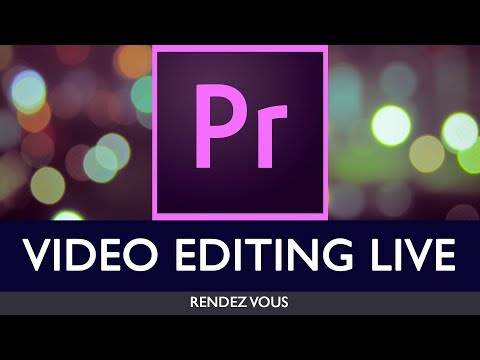 VIDEO EDITING LIVE | ADOBE PREMIERE PRO | EDITING FOOTBALL PLAYER